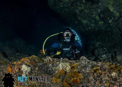 Cueva de los Cerebros Teneryfa nurkowanie