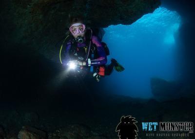 jaskinie Teneryfa nurkowanie