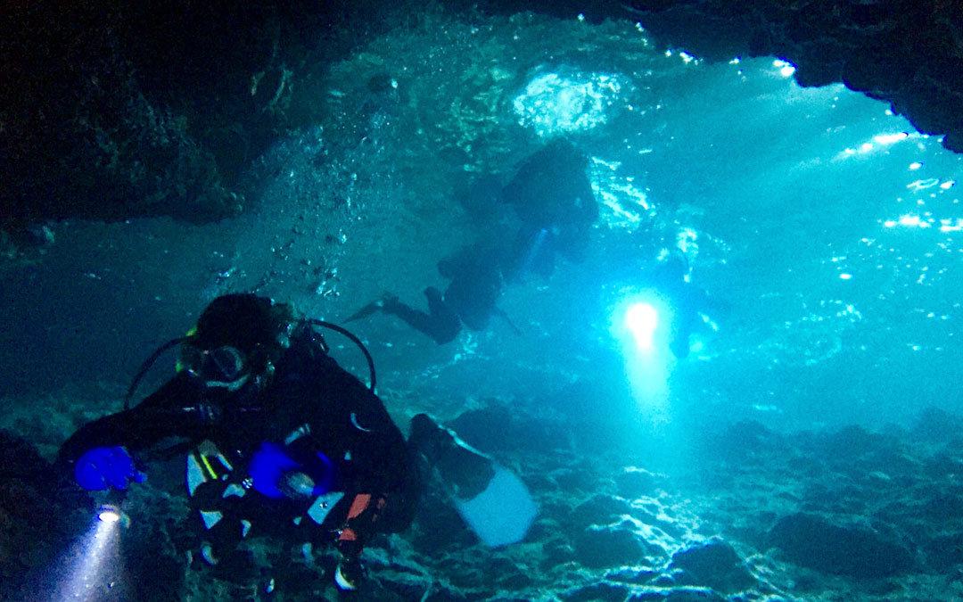 nurkowanie jaskiniowe teneryfa