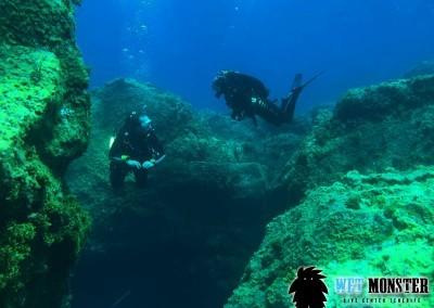 nurkowanie na teneryfie w Las Eras