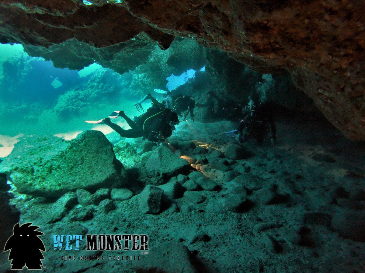 nurkowanie Teneryfa Cueva Zorro