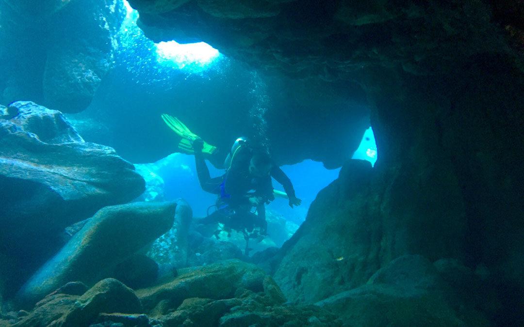 nurkowanie Teneryfa El Balito