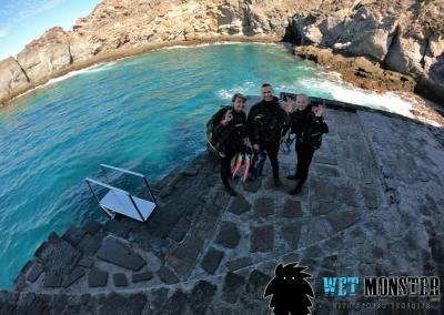 Teneryfa El Balito nurkowanie