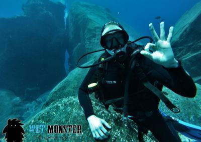 Teneryfa nurkowanie El Balito