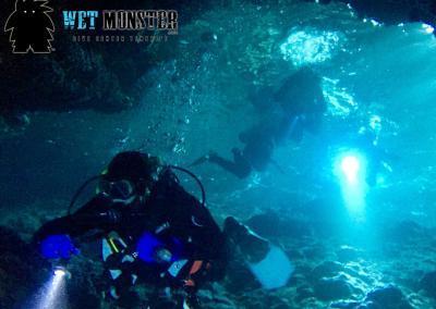 Teneryfa nurkowanie jaskinia