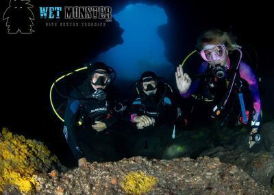 Teneryfa nurkowanie jaskinie
