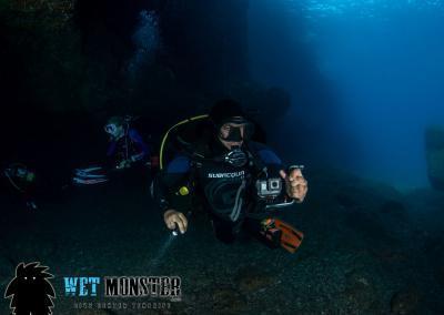Teneryfa nurkowanie jaskiniowe