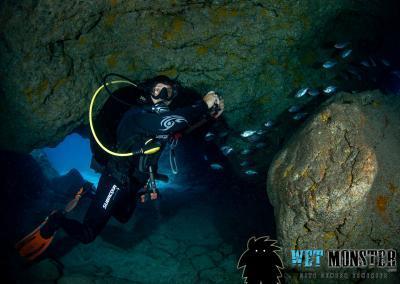 teneryfa nurkownie jaskiniowe